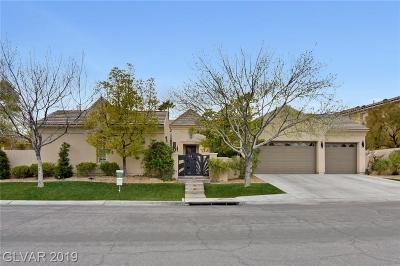Las Vegas Single Family Home For Sale: 1509 Saintsbury Drive