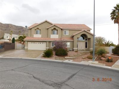 Las Vegas Single Family Home For Sale: 6641 Lucky Boy Drive