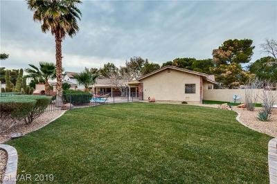 Las Vegas Single Family Home For Sale: 9 Quail Run Road