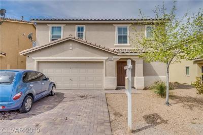 North Las Vegas Single Family Home For Sale: 3233 Aiken Street
