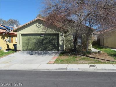 Las Vegas NV Single Family Home For Sale: $197,000