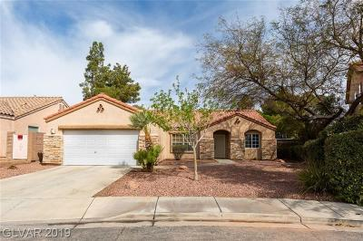Henderson Single Family Home Under Contract - No Show: 1014 Kings View Court