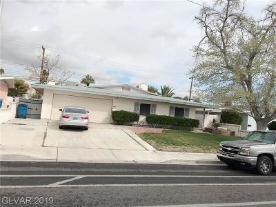 Las Vegas Single Family Home For Sale: 5800 Alta Drive