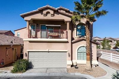 Las Vegas Single Family Home For Sale: 8015 Polar Express Court