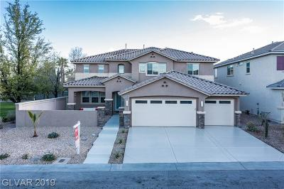 Las Vegas Single Family Home For Sale: 10529 Hope Mills Drive