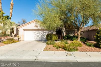 Boulder City, Henderson, Las Vegas, North Las Vegas Single Family Home For Sale: 2106 Joy Creek Lane
