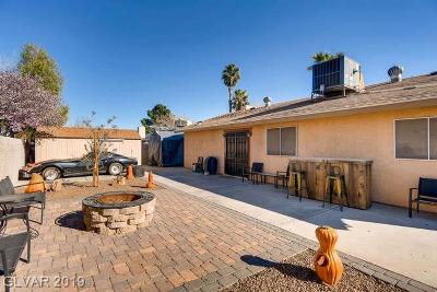 Las Vegas Single Family Home For Sale: 6224 Old Trail Road
