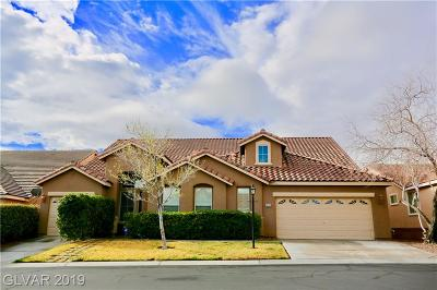 Las Vegas Single Family Home For Sale: 8213 Wooden Windmill Court