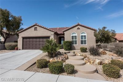 Boulder City, Henderson, Las Vegas, North Las Vegas Single Family Home For Sale: 2444 Eagle Harbor Drive