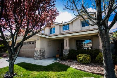 Las Vegas Single Family Home For Sale: 1313 Bainberry Ridge Lane