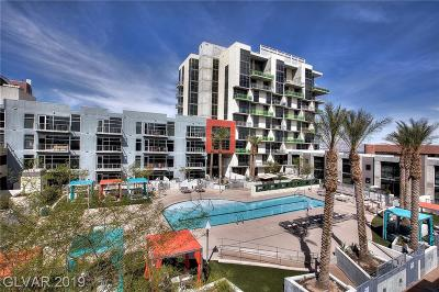 Las Vegas High Rise Under Contract - No Show: 353 Bonneville Avenue #628