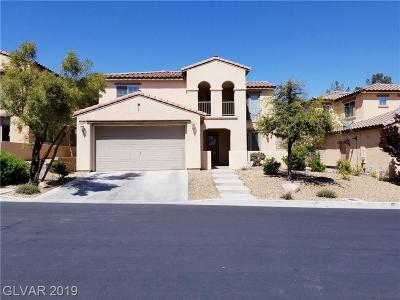 Las Vegas Single Family Home For Sale: 12120 M 12120 Montura Rosa Pl Place