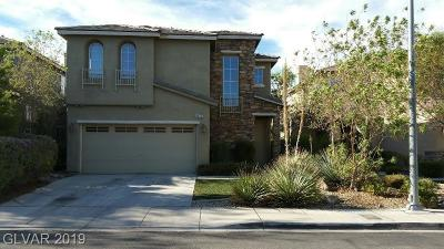 Las Vegas Single Family Home For Sale: 4942 Moberly Avenue
