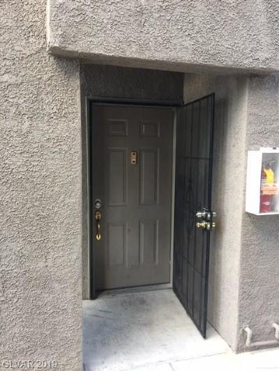 Condo/Townhouse For Sale: 5525 Flamingo Road #1029