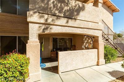 Las Vegas Condo/Townhouse For Sale: 350 South Durango Drive #132