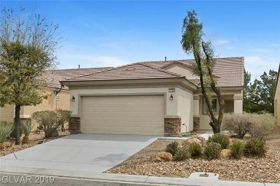 North Las Vegas Single Family Home Under Contract - No Show: 7736 Pine Warbler Way