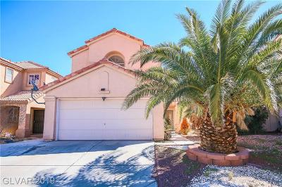 Las Vegas Single Family Home For Sale: 3422 Summersprings Drive