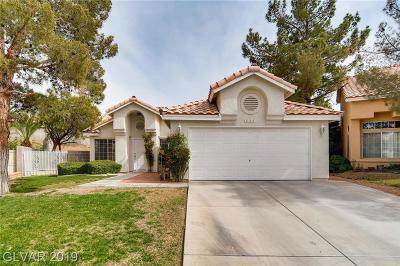 Henderson Single Family Home For Sale: 253 Prairie Rose Street