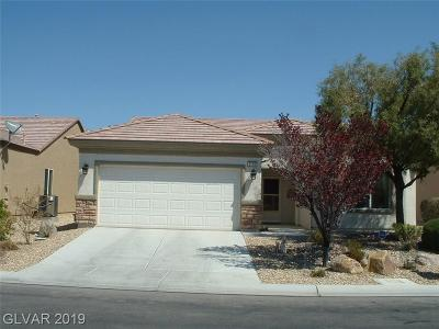 Boulder City, Henderson, Las Vegas, North Las Vegas Single Family Home For Sale: 2120 Night Parrot Avenue