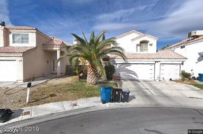 Las Vegas Single Family Home For Sale: 1321 Maplegrove Circle