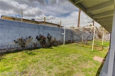 Las Vegas Single Family Home For Sale: 1642 Palma Vista Avenue