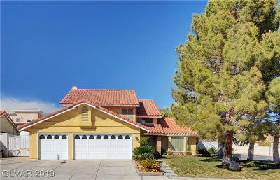 Las Vegas Single Family Home For Sale: 8200 Bright Drive
