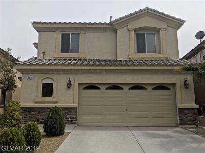 Las Vegas Single Family Home For Sale: 578 Newberry Springs Drive