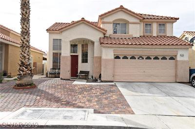 Las Vegas Single Family Home For Sale: 2535 Rafferty Creek Lane