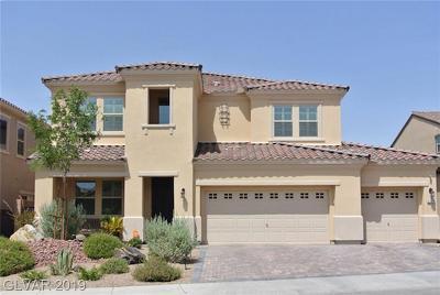 Henderson Single Family Home For Sale: 504 Punto Vallata Drive