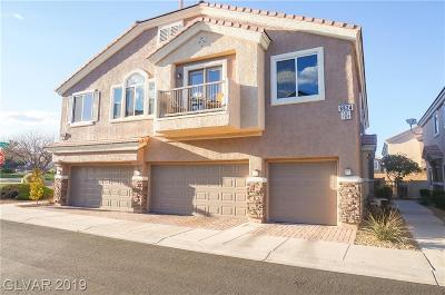 Las Vegas Condo/Townhouse For Sale: 8824 Traveling Breeze Avenue #101
