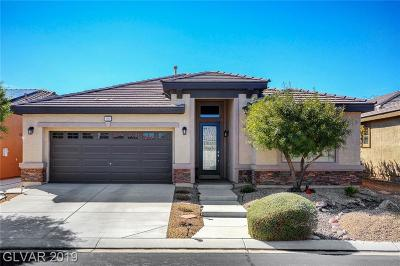 Boulder City, Henderson, Las Vegas, North Las Vegas Single Family Home For Sale: 5805 Hannah Brook Street