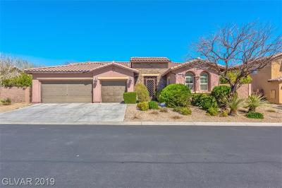 Las Vegas Single Family Home For Sale: 7422 Mezzanine View Avenue