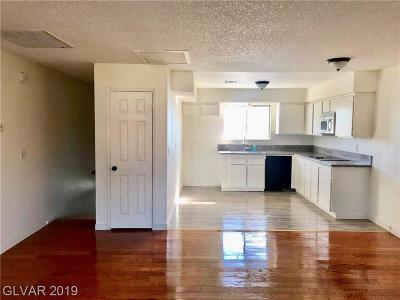 North Las Vegas Condo/Townhouse For Sale: 3411 Civic Center Drive #A