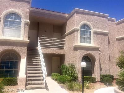 Las Vegas Condo/Townhouse For Sale: 3150 Soft Breezes Drive #1039