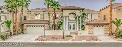 Las Vegas Single Family Home For Sale: 358 Whispering Tree Avenue