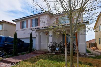Las Vegas NV Single Family Home For Sale: $334,900