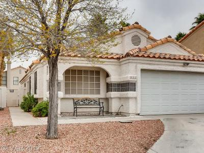 Las Vegas Single Family Home For Sale: 332 Pinnacle Court