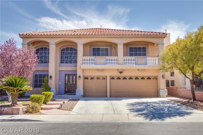 Las Vegas Single Family Home For Sale: 8006 Avalon Island Street