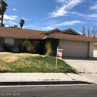 Las Vegas Single Family Home For Sale: 1008 Shadow Mountain Place