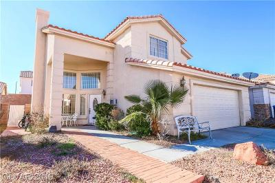 Las Vegas  Single Family Home For Sale: 3751 Morning Canyon Street