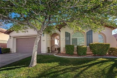 Las Vegas Single Family Home For Sale: 11716 Feinberg Place