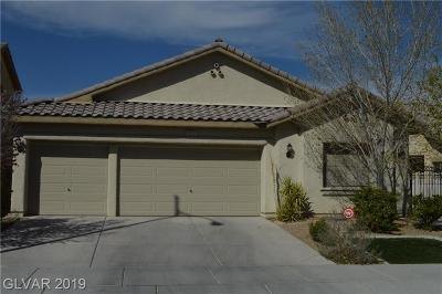 North Las Vegas Single Family Home For Sale: 3913 Fuselier Drive