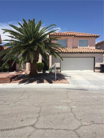 North Las Vegas Single Family Home For Sale: 5015 Jacarilla Lane