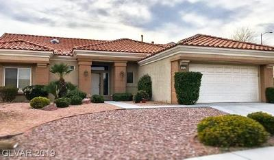 Boulder City, Henderson, Las Vegas, North Las Vegas Single Family Home For Sale: 10929 Button Willow Drive