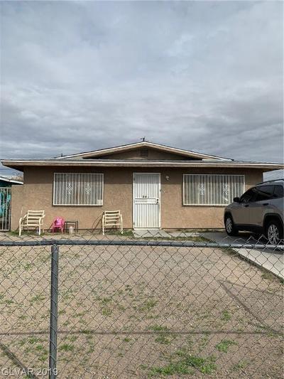 Las Vegas Single Family Home For Sale: 808 Hart Avenue