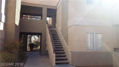 Las Vegas NV Condo/Townhouse For Sale: $152,900