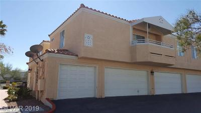 Las Vegas Condo/Townhouse For Sale: 8452 Boseck Drive #283