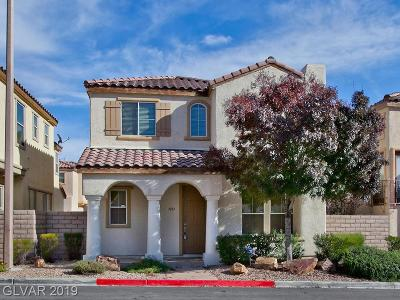 Las Vegas Single Family Home For Sale: 1037 Big Oak Flat Court