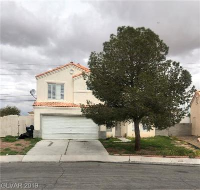 North Las Vegas Single Family Home For Sale: 3616 Creosote Way