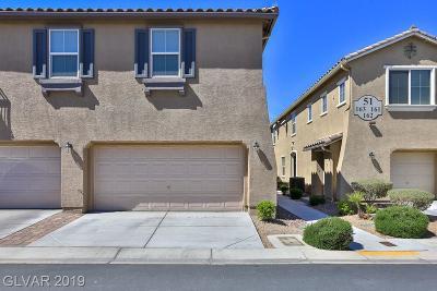 Las Vegas Condo/Townhouse For Sale: 6255 Arby Avenue #158